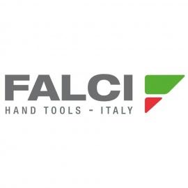 Falci aluminium steel voor borstel, inclusief houten handvat (100cm)