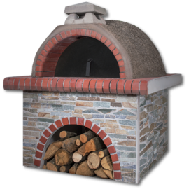 Pizzaoven Sxistolithos Red Firebrick Small