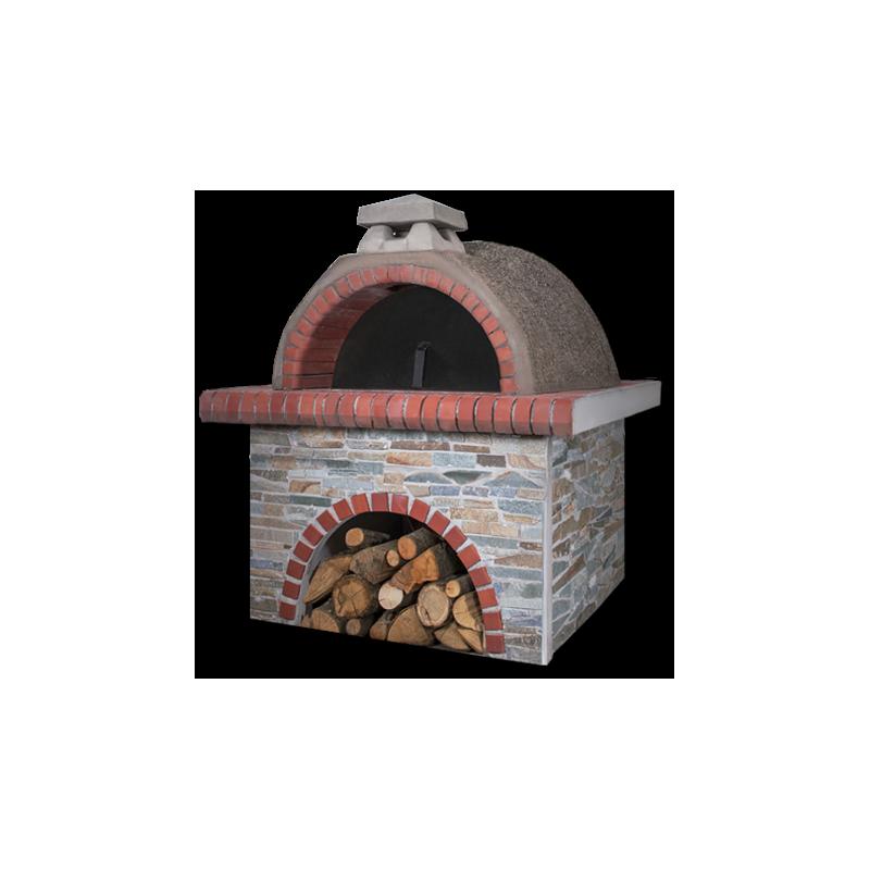 Pizzaoven Sxistolithos Red Firebrick Large
