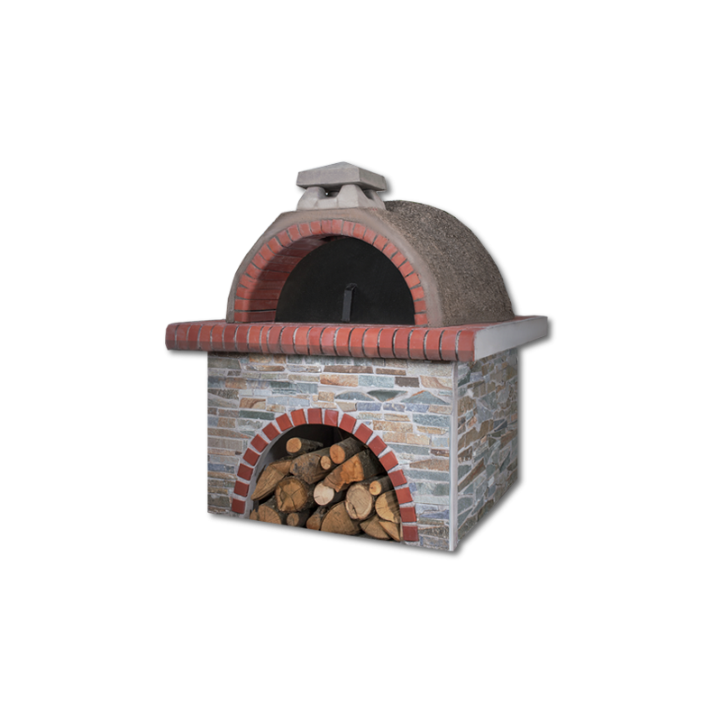 Pizzaoven Sxistolithos Red Firebrick Professional