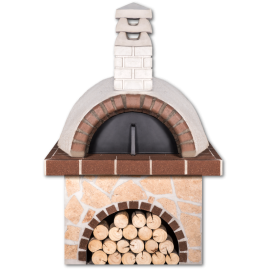 Pizzaoven Sxistolithos Limestone Brown Firebrick Professional