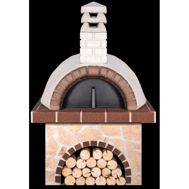 Pizzaoven Sxistolithos Limestone Brown Firebrick Professional