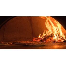 Pizzaoven Al Metro 140 (hout en gasgestookt)
