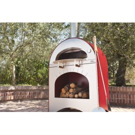 Pizzaoven Pizza e Brace (LPG gestookt)