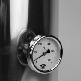 Fimet inbouw thermometer, tot 500°C