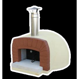 Pizzaoven Etna (incl. verf, cement en isolatiepakket)